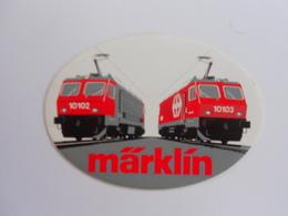 Autocollant  MARKIN - Trains électriques