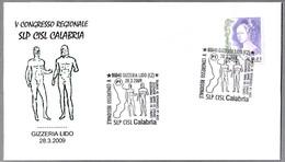 V Congreso Regional SLP CISL Calabria. Desnudo - Nude. Gizzeria Lido, Catanzaro, 2009 - Arqueología