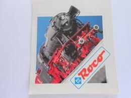 Autocollant  ROCO - Trains électriques