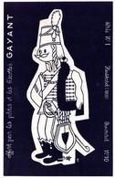Buvard Pâtes Et Biscottes Gayant. Buvard à Colorier N°10, Hussard 1800 - Biscottes