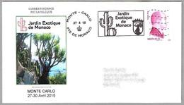JARDIN EXOTICO DE MONACO - CACTUS. Monte-Carlo 2015 - Cactus
