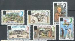 Mauritius - MICHEL Nr. Porto 14/19 Postfrisch / ** / Mnh  [U4-MRI58] - Mauritius (1968-...)