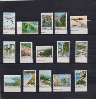 GREECE STAMPS LANDSCAPES MNH-15/12/79-COMPLETE SET - Grèce