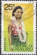 NAURU 1973 Nauruan Girl -  25c Multicoloured FU - Nauru