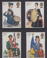 Great Britain 1982 Scouting 4v ** Mnh (39909) - 1952-.... (Elizabeth II)
