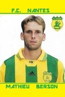 CARTE DE JOUEUR DE . JULIO OLARTICOECHEA   FC.NANTES    #  JN.FC. 305 - Soccer