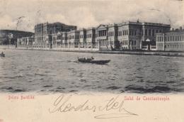 AK - Türkei - Salut De Constantinople - Dolma Bachtche - 1900 - Türkei