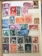 Belgium, Bulgaria Stamp Album - Approx 350+ Stamps Collection - Europe (Other)