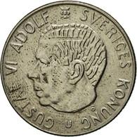 Monnaie, Suède, Gustaf VI, Krona, 1973, SUP, Copper-Nickel Clad Copper, KM:826a - Suède