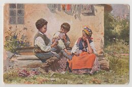 1058 Playing Cards 1910s  Publication Of The School Of Painting Makovsky - Cartes à Jouer