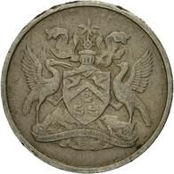 Monnaie, TRINIDAD & TOBAGO, 10 Cents, 1966, Franklin Mint, TTB, Copper-nickel - Trinité & Tobago