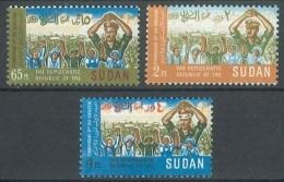 Sudan - MICHEL Nr. 261/263 (RRR!) Postfrisch / ** / Mnh  [U4-SDN3] - Sudan (1954-...)