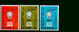 Sudan - MICHEL Nr. 355/357 Postfrisch / ** / Mnh  [U4-SDN31] - Sudan (1954-...)