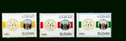 Sudan - MICHEL Nr. 549/551 Mängel Postfrisch / ** / Mnh  [U4-SDN34] - Sudan (1954-...)