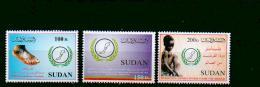 Sudan - MICHEL Nr. 558/560 Postfrisch / ** / Mnh  [U4-SDN37] - Sudan (1954-...)