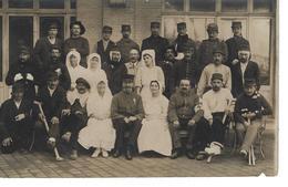 14 - TROUVILLE SUR MER - Belle Carte Photo De L'Hôpital Militaire N° 30 ( Blessés De Guerre ) - Trouville