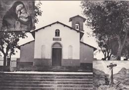 CARTOLINA - POSTCARD - ERITREA - DECAMERE' -CHIESETTA , 28 OTTOBRE , COSTUITA IL 5- 8- 1936DELLA LEGIONE GARIBALDINA - Eritrea