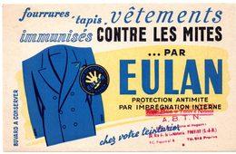 Buvard Eulan, Protection Antimites, Vêtements, Fourrures, Tapis. Tampon ABTN à Provins. - Textile & Clothing
