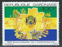 Gabon. Scott # 693 MNH. 30th Anniv. Of Independence 1990 - Gabon