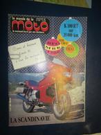 Revue - Le Monde De La Moto N 132 - Jan 86 - Avec Posters - BFG MBK 1300 - K 100 RT - Guzzi V 850 GT - Auto/Moto
