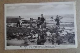 VEULES LES ROSES - La Pêche à La Crevette ( 76 Seine Maritime ) - Veules Les Roses