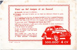 Buvard Concours 500.000e 4 CV. - Automobile