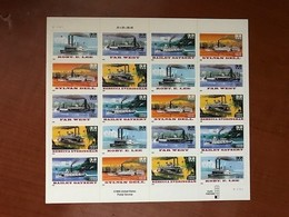 USA United States Steamers Sheet Mnh 1996 - Sheets