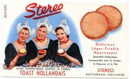 Buvard Toast Hollandais Stereo. - Biscottes