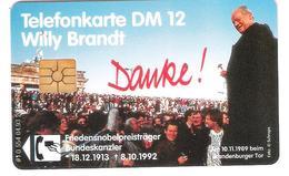 Germany - O 554 04/93 - Willy Brandt - Deutschland