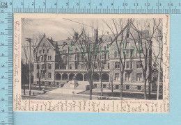 """Montreal Quebec - Royal Victoria College """"Mc Gill"""" , College For Women, Used In 1908, CPA Post Card Carte Postale - Ecoles"""