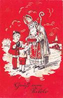 96/ Gruss Vom Nikolo, Sinterklaas, Sint Nicolaas - Saint-Nicholas Day