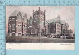 Belleville Ontario - Many People At Albert College, Used In 1907, Warwick  Bro's & Rutter -postcard Carte Postale - Ontario