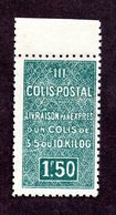 Algérie Colis Postaux  N°43Aa   N** LUXE  Cote 150 Euros !!!RARE - Algérie (1924-1962)