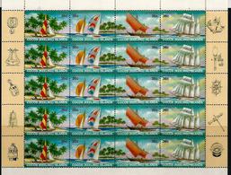 La Navigation à L'île COCOS , Feuillet Entier Neuf **  Côte 40,00 € EUR - Cocos (Keeling) Islands