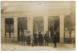 Carte-photo.....salles De Bal,et De Spectacle,des Bains,et Du Casino.....animée..1913..... - Francia