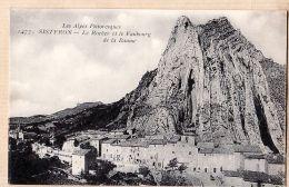 X04021 SISTERON Alpes-Haute-Provence Village Le Rocher Et Faubourg De La BAUME LE DELEY 1477 - Sisteron