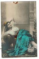 Carte Photo - Femme Turque En Costume D'intérieur - Turquie - 2 Scans - Turchia
