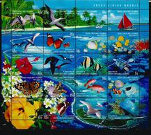Faune Marine De L'île COCOS , Feuillet Entier Neuf **   Année 2000 - Cocos (Keeling) Islands