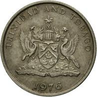 Monnaie, TRINIDAD & TOBAGO, 10 Cents, 1976, Franklin Mint, TTB, Copper-nickel - Trinité & Tobago