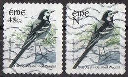 Irlanda 2003 Sc. 1495-1515 Birds Uccelli Pied Wagtail Motacilla Alba  Eire Ireland Used - Sparrows