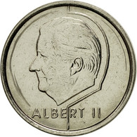 Monnaie, Belgique, Albert II, Franc, 1997, Bruxelles, SUP, Nickel Plated Iron - 02. 1 Franc