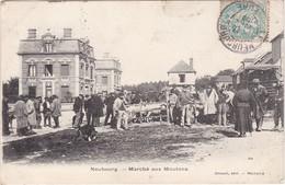 LE NEUBOURG - Marché Aux Moutons - Animé - Le Neubourg