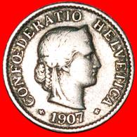 # LIBERTY (1879-2019): SWITZERLAND ★ 5 RAPPEN 1907B! LOW START ★ NO RESERVE! - Svizzera