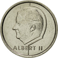 Monnaie, Belgique, Albert II, Franc, 1998, Bruxelles, SUP, Nickel Plated Iron - 02. 1 Franc
