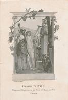 036/27 - VINS FRANCE - Petit Fascicule 4 Pages + 2 Couvertures - Vers 1903 - Henri Vitou , PARIS - Vins & Alcools