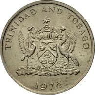 Monnaie, TRINIDAD & TOBAGO, 25 Cents, 1976, Franklin Mint, TTB, Copper-nickel - Trinité & Tobago