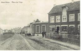 Mont-dison Place Du Tiege L. Albert Wertz  Faubourg De Verviers Relie Par Tramways Electriques - Dison