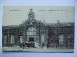 Bergues - La Gare - Guerre 1914-15 - P. Berteloot - Bergues
