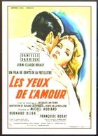 Carte Postale : Les Yeux De L'Amour (Danielle Darrieux - Cinéma Affiche Film) Illustration Michel Gourdon - Gourdon