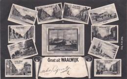 184682Waalwijk, Groet Uit (poststempel 1906) - Waalwijk